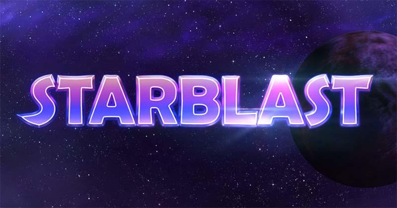 Starblast Slot Logo