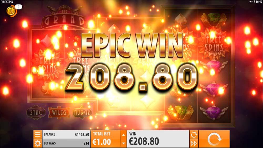 The Grand Slot - Epic Win