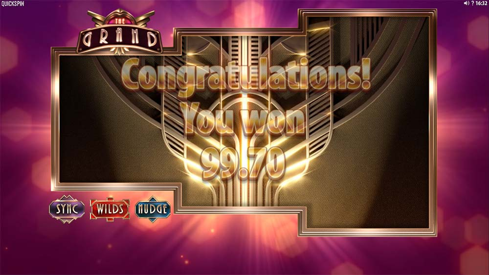 The Grand Slot - Bonus End