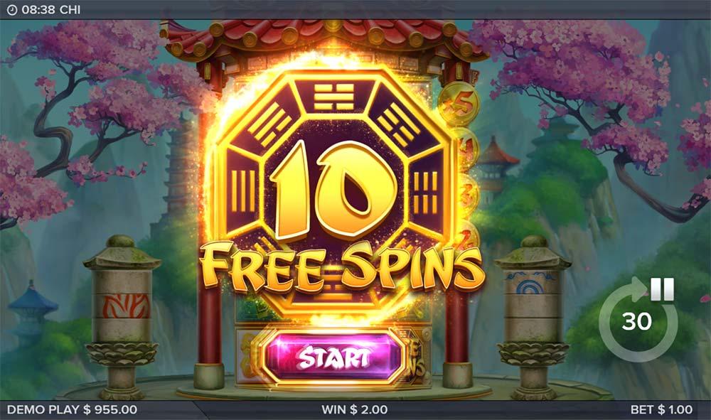 Chi Slot - Free Spins Bonus Triggered