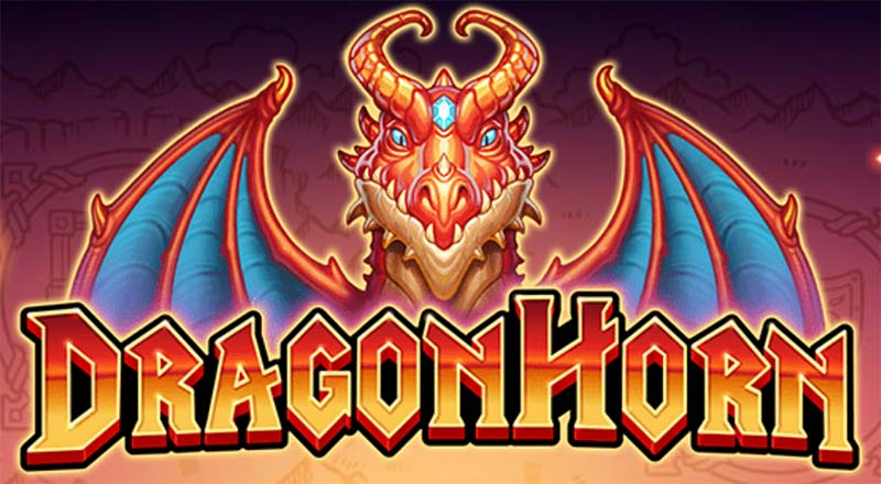 Dragonhorn Slot Logo
