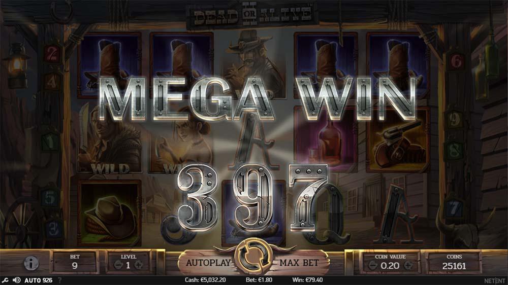 Dead or Alive II - Mega Win