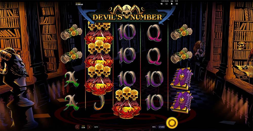 Devil's Number Slot - Base Game