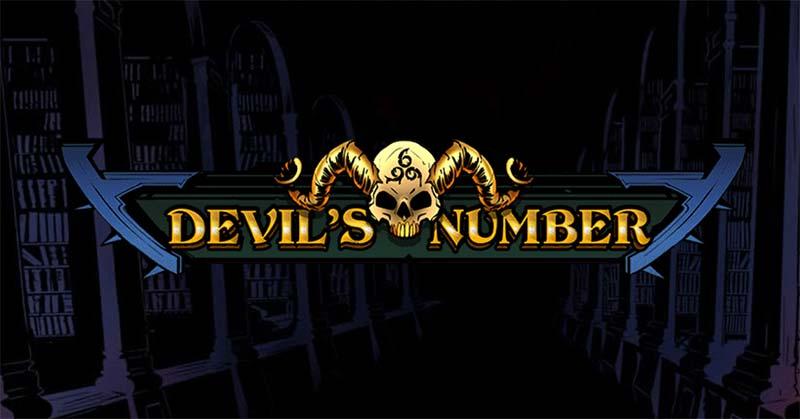 Devil's Number Slot Logo