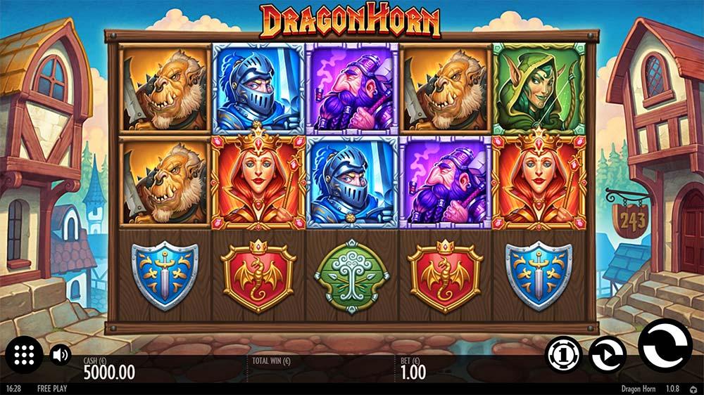Dragon Horn Slot - Base Gameplay