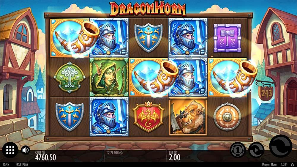 Dragon Horn Slot - Bonus Trigger
