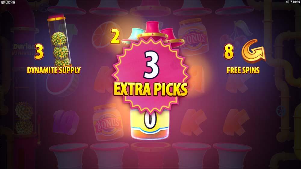Durian Dynamite Slot - Bonus Picks