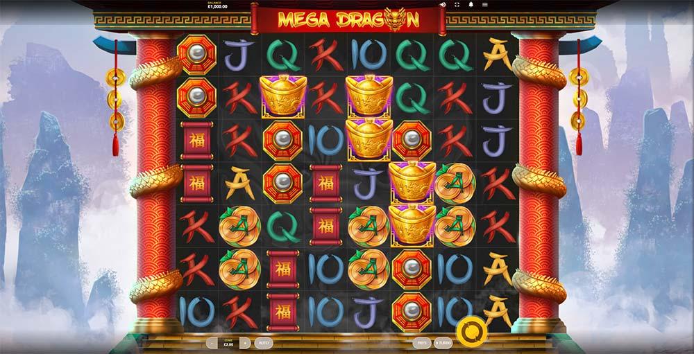 Mega Dragon Slot - Base Game