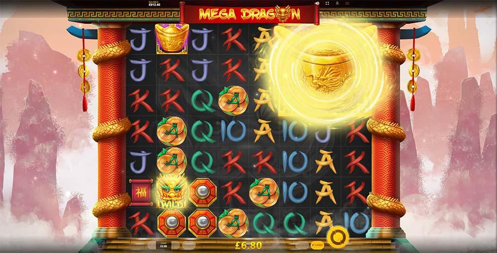 Mega Dragon Slot - Mega Symbol Feature