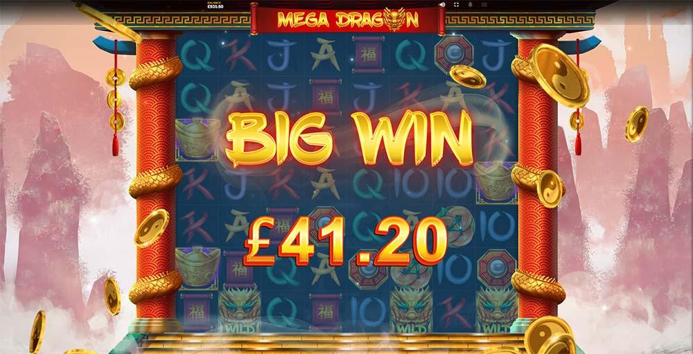 Mega Dragon Slot - Big Win