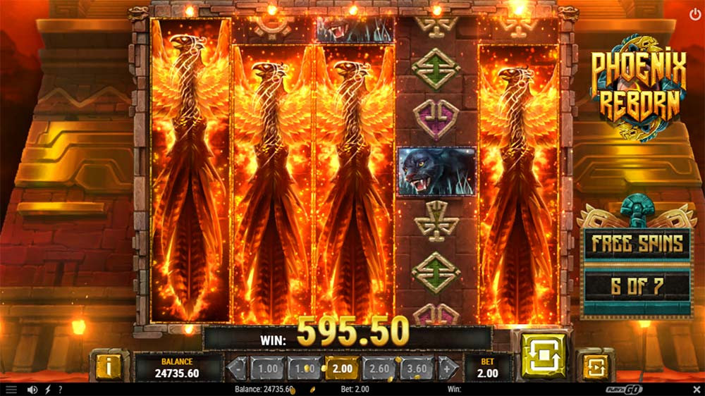 Phoenix Reborn Slot - Wild Reels Added