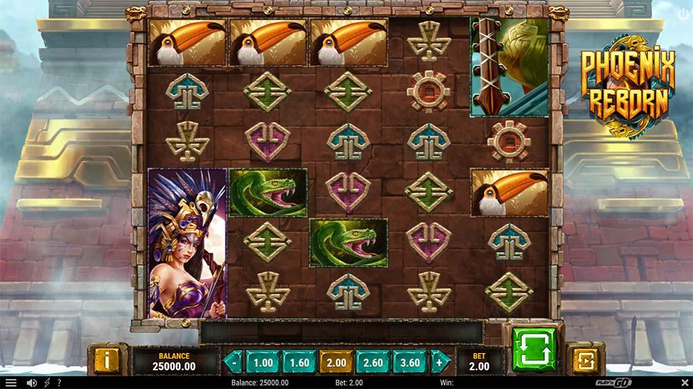 Phoenix Reborn Slot - Base Game