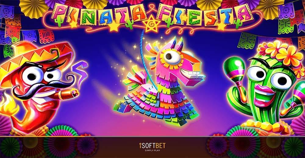 Pinata Fiesta Slot - Loading Screen