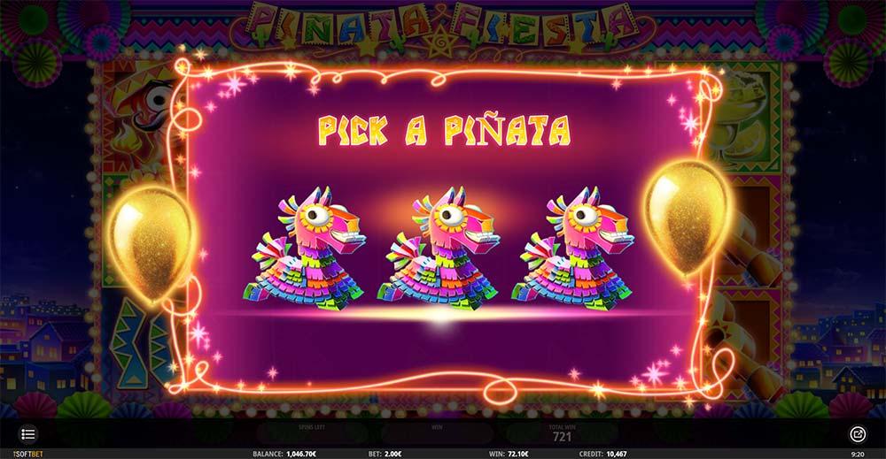 Pinata Fiesta Slot - Extra Free Spins Picking Round