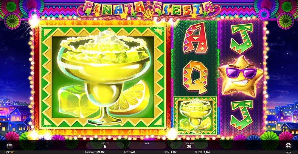 Pinata Fiesta Slot - Mega Spinata Feature