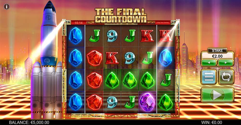 The Final Countdown Slot - Base Game