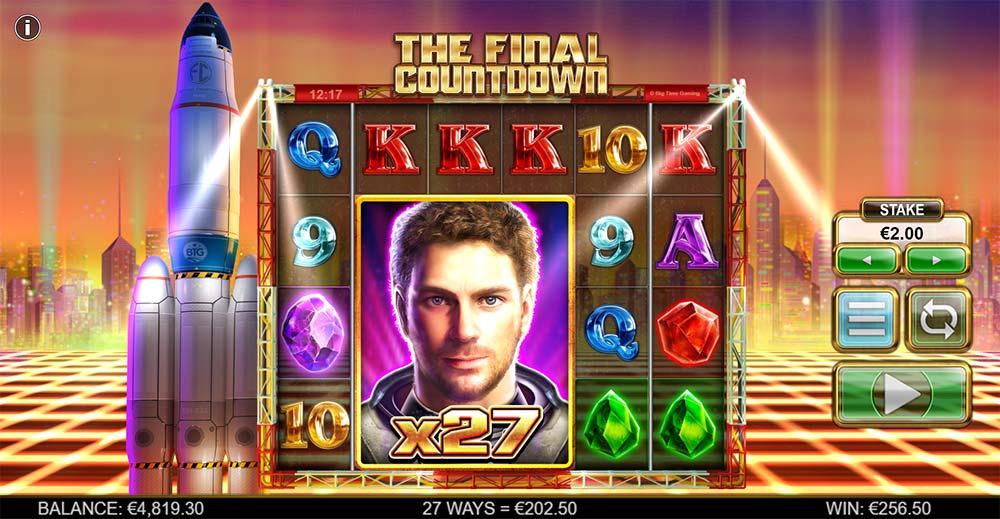 The Final Countdown Slot - Wild Multiplier