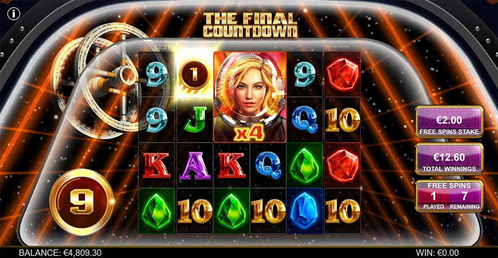 The Final Countdown Slot - Free Spins