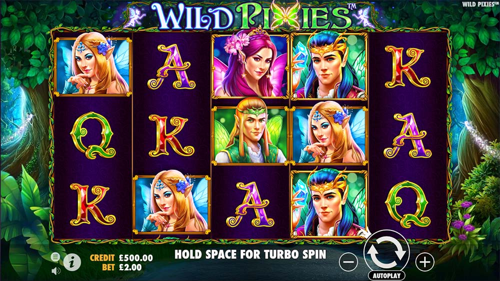 Wild Pixies Slot - Base Game