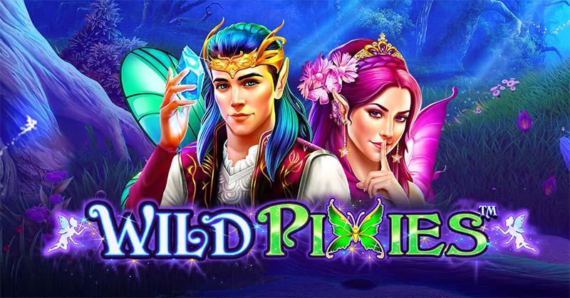 Wild Pixies Slot Logo