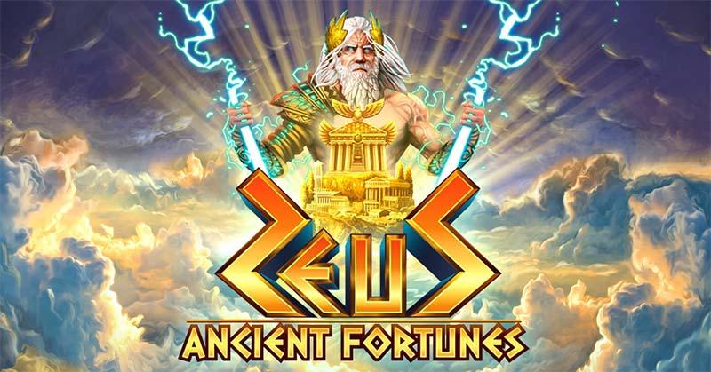 Ancient Fortunes: Zeus Slot Logo