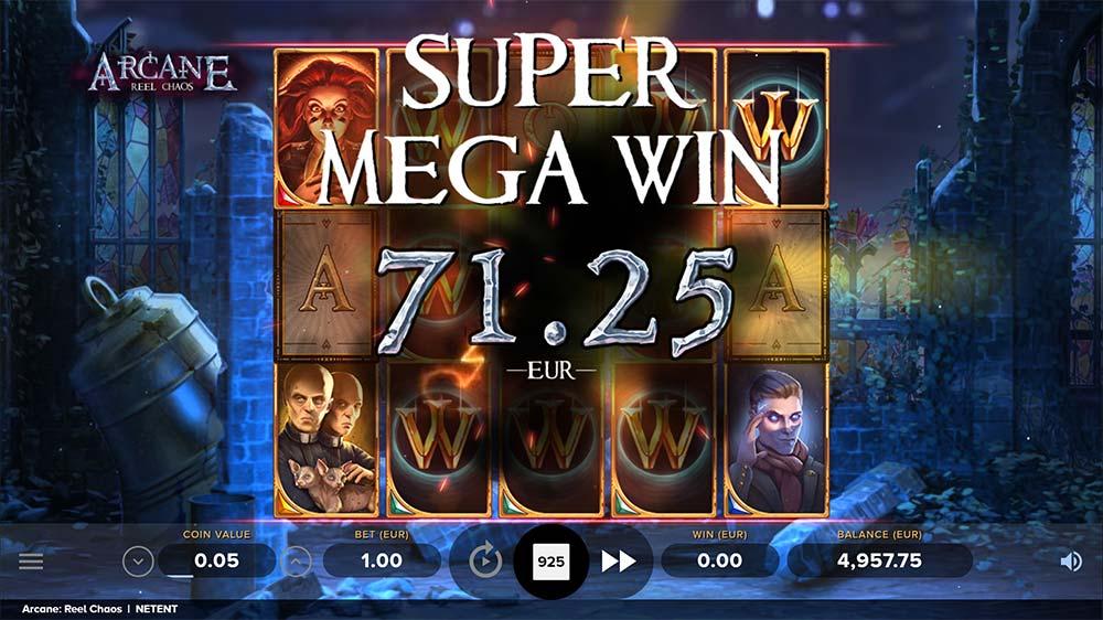 Arcane Reel Chaos Slot - Super Mega Win