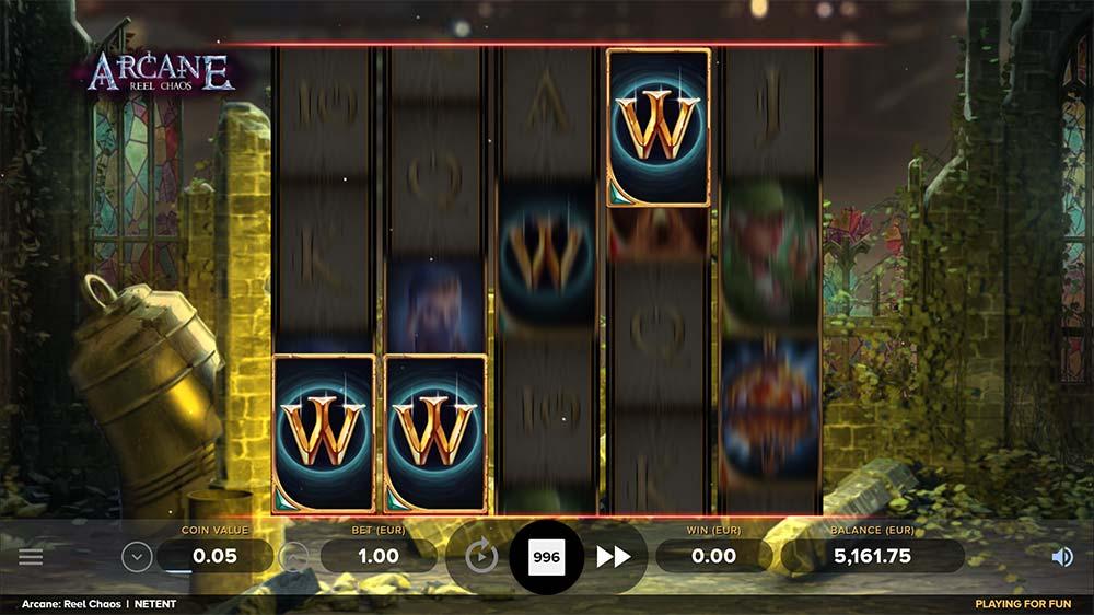 Arcane Reel Chaos Slot - Overlay Wilds