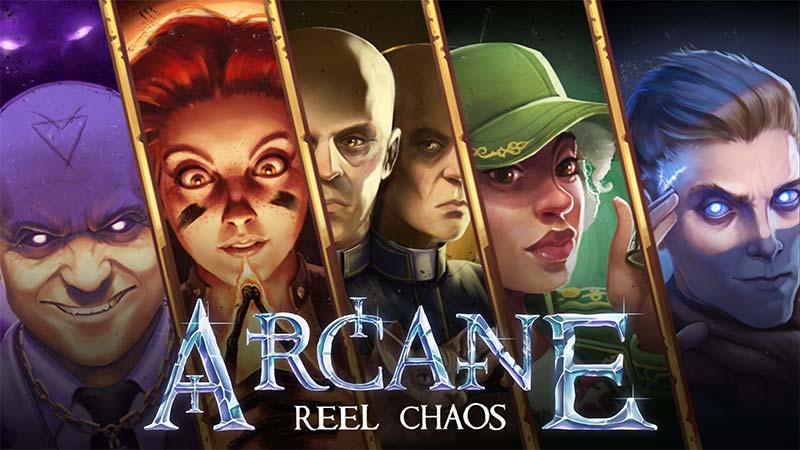 Arcane Reel Chaos Slot Logo