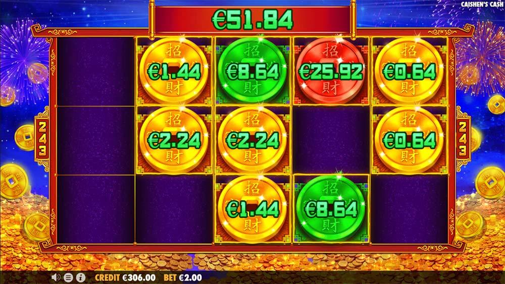 Caishen's Cash Slot - Money Respin Bonus