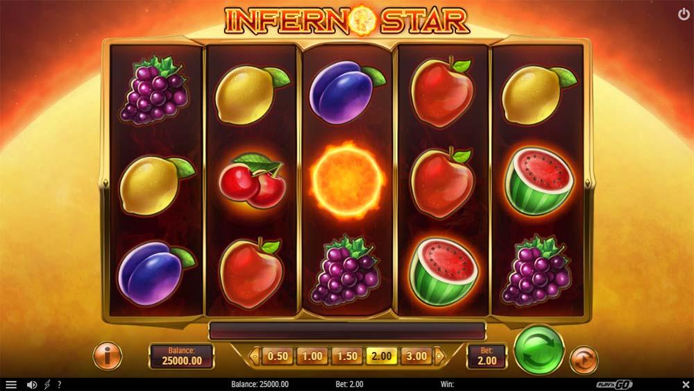 Inferno Star Slot - Base Game