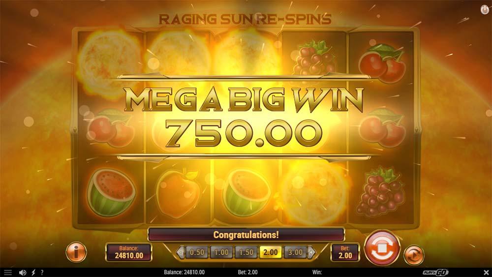 Inferno Star Slot - Mega Big Win