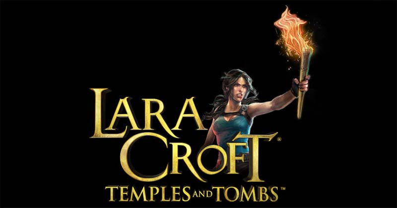 Lara Croft Temples and Tombs Slot Logo