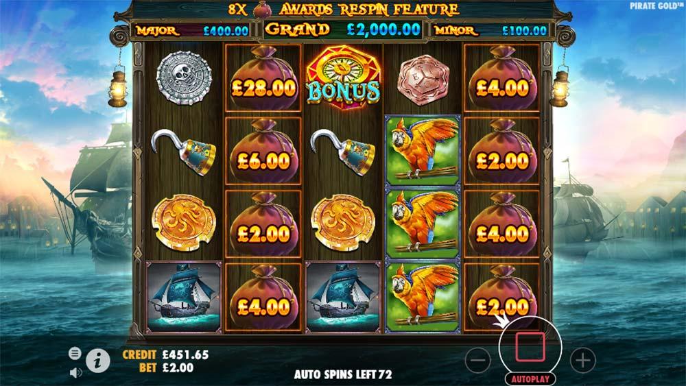 Pirate Gold Slot - Lucky Treasure Trigger