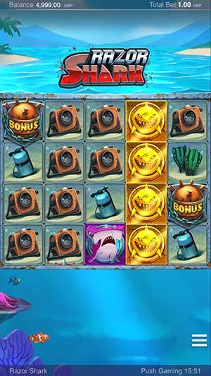 Razor Shark Mobile Base Game