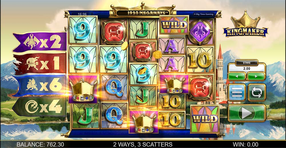Kingmaker Slot - Bonus Triggered