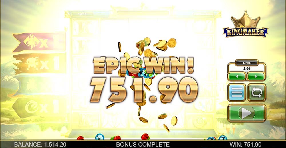 Kingmaker Slot - Epic Win