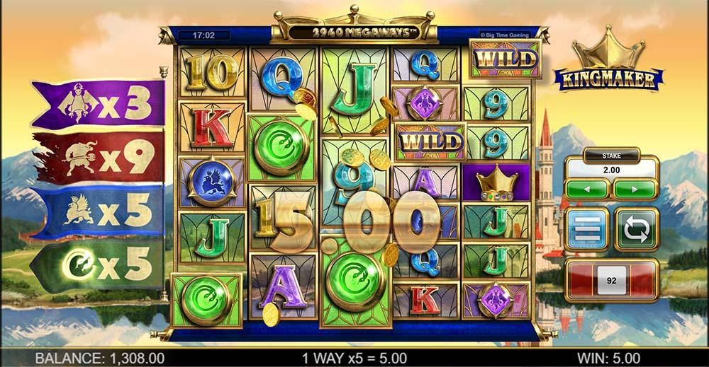 Kingmaker Slot - Multipliers Increased