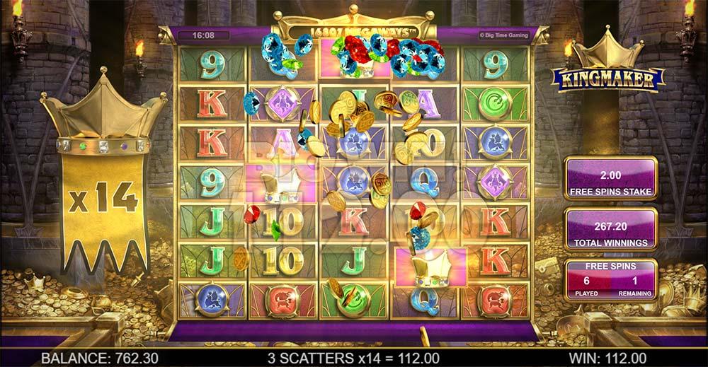 Kingmaker Slot - Bonus Re-Trigger