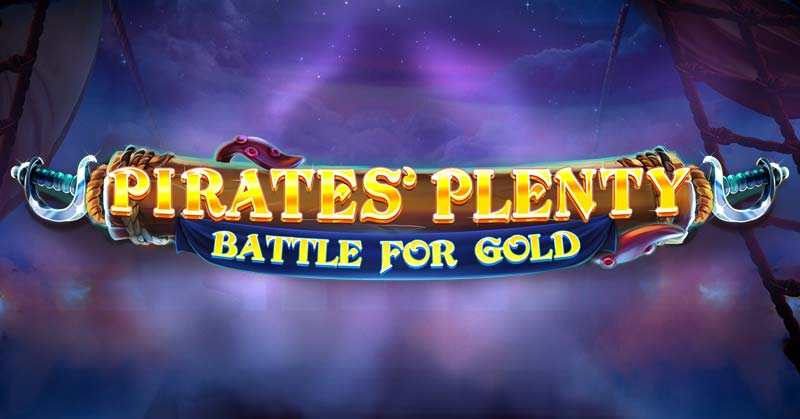 Pirates' Plenty Battle For Gold Slot Logo
