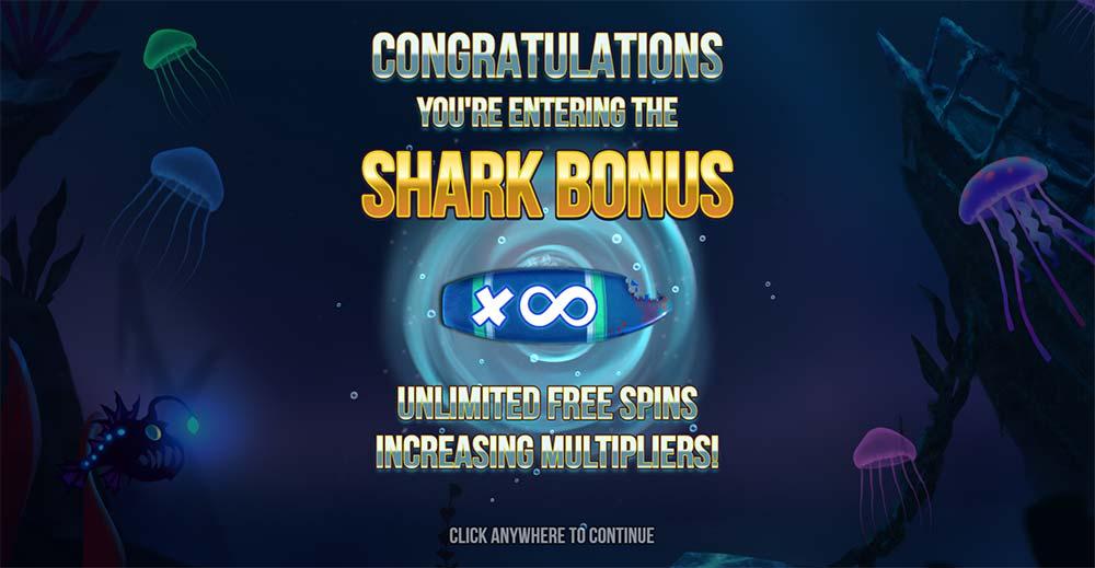 Razor Shark Slot - Bonus Trigger