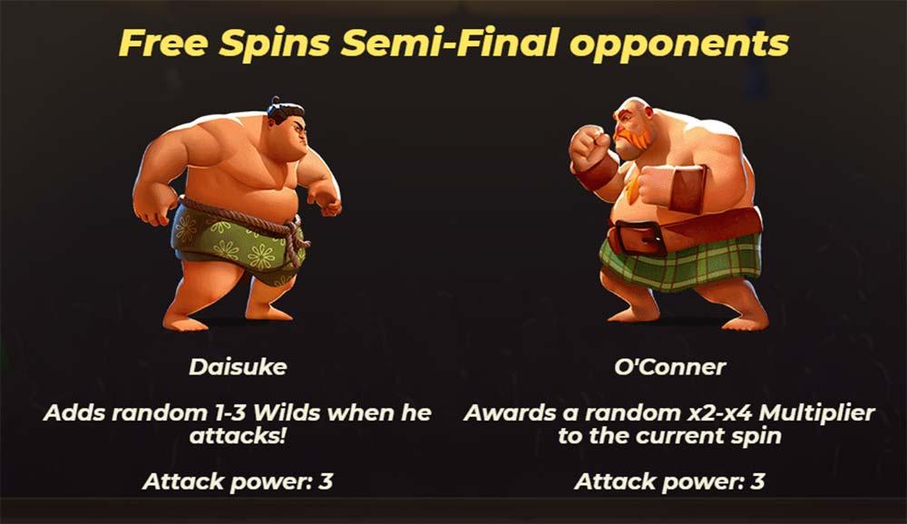Yokozuna Clash - Sumo opponents