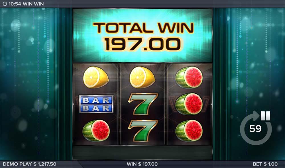 Win Win Slot - Bonus End