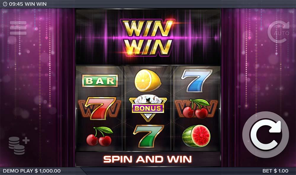 Win Win Slot - Intro Screen