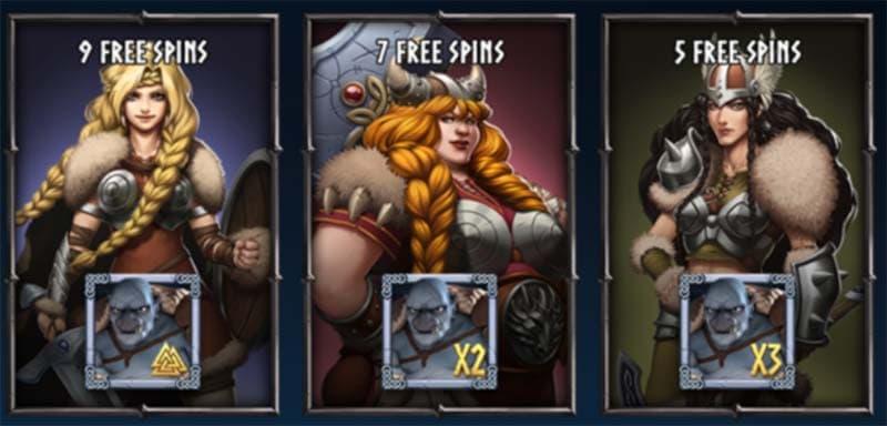 Free Spins Options - Troll Hunter 2