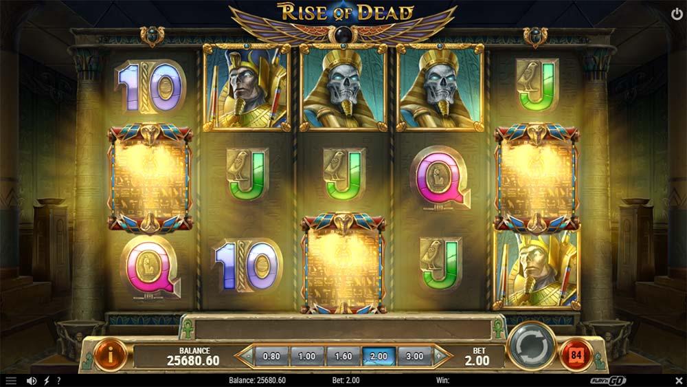 Rise of Dead Slot - Bonus Trigger