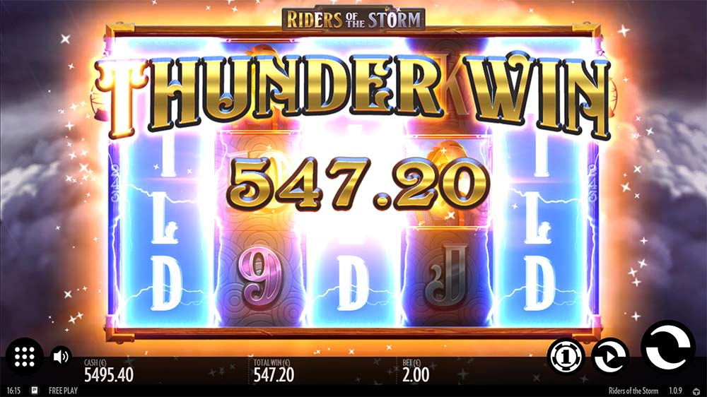 Riders of the Storm Slot - Thunder Win