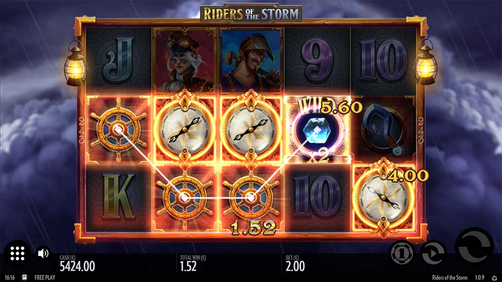 Riders of the Storm Slot - Bonus Trigger