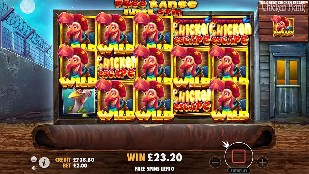 The Great Chicken Escape Slot - Super Spin