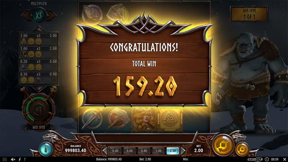 Troll Hunters 2 Slot - Bonus End