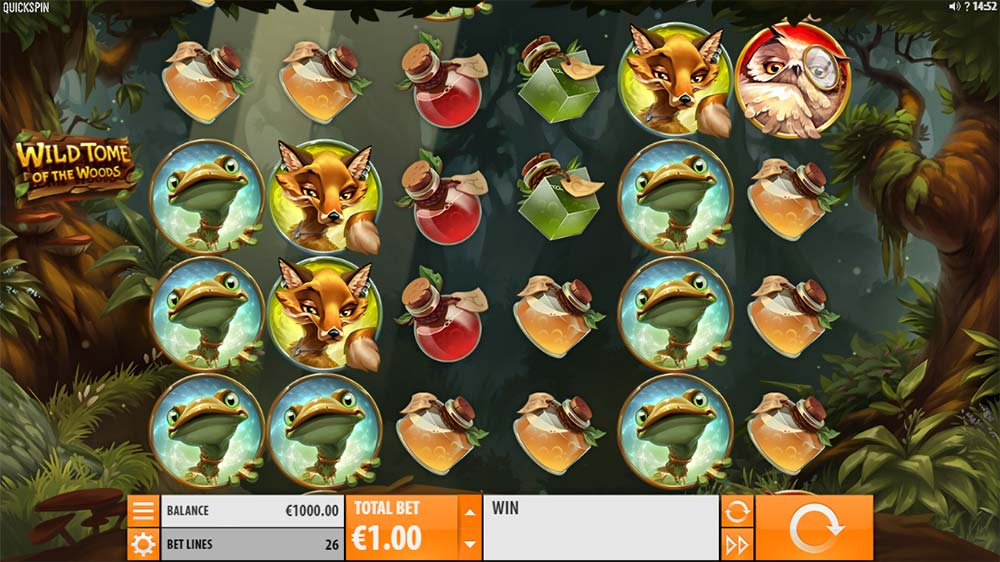 Wild Tome of the Woods Slot - Base Game